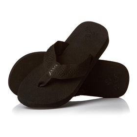 Reef Sandy Womens Sandals - Black Black