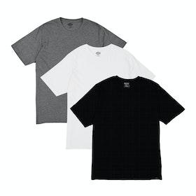 Dickies Multicolour 3PK Kurzarm-T-Shirt - Assorted
