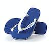 Havaianas Brasil Logo Sandals - Marine Blue