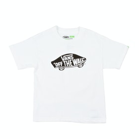 Vans OTW Kids Short Sleeve T-Shirt - White Black