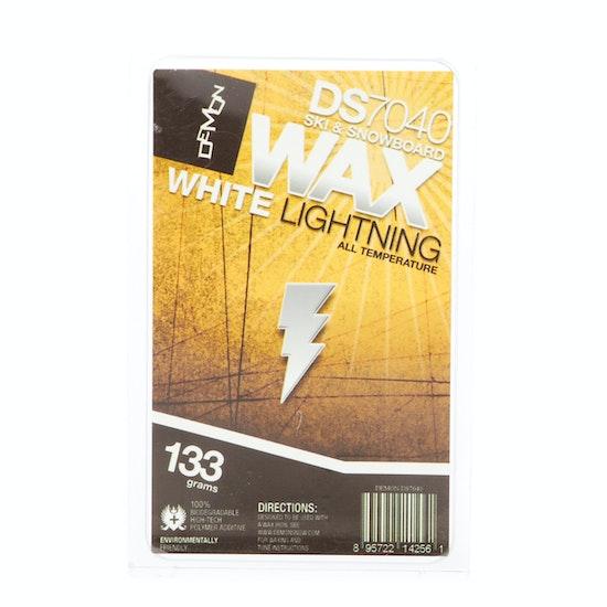 Demon White Lightning Team Wax Universal (133gm) , Snowboard Wax