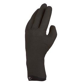Rip Curl Dawn Patrol 3mm 5 Finger Wetsuit Gloves - Black