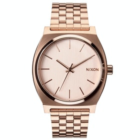 Nixon Time Teller Watch - All Rose Gold Colour