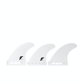 Futures F4 Traditional Thermotech Thruster Fin - White