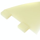 FCS GX Natural Glass Flex Thruster Fin