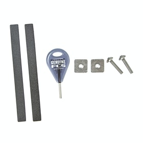 FCS Longboard Spare Parts Kit Surf Tool - Black