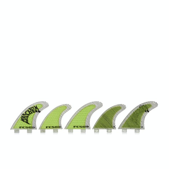 FCS GMB Performance Core Set Of Five Fin