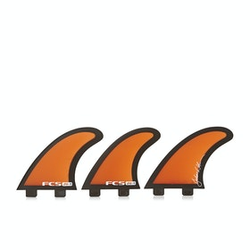 FCS Julian Wilson Performance Glass Thruster Fin - Orange