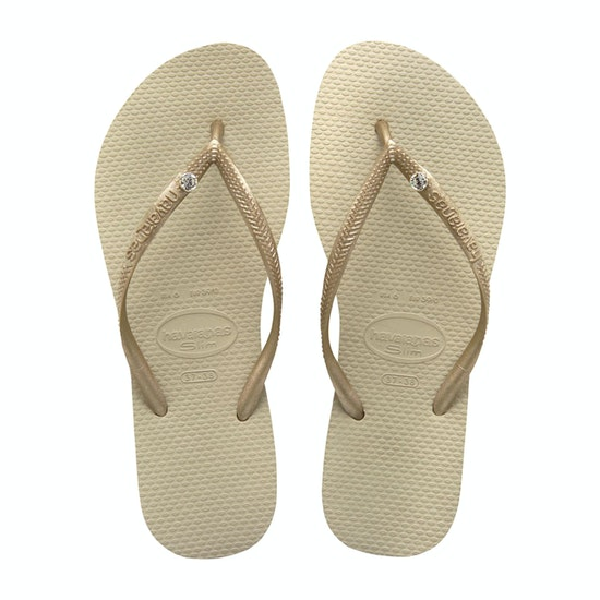 Havaianas Slim Crystal Glamour Ladies Sandals