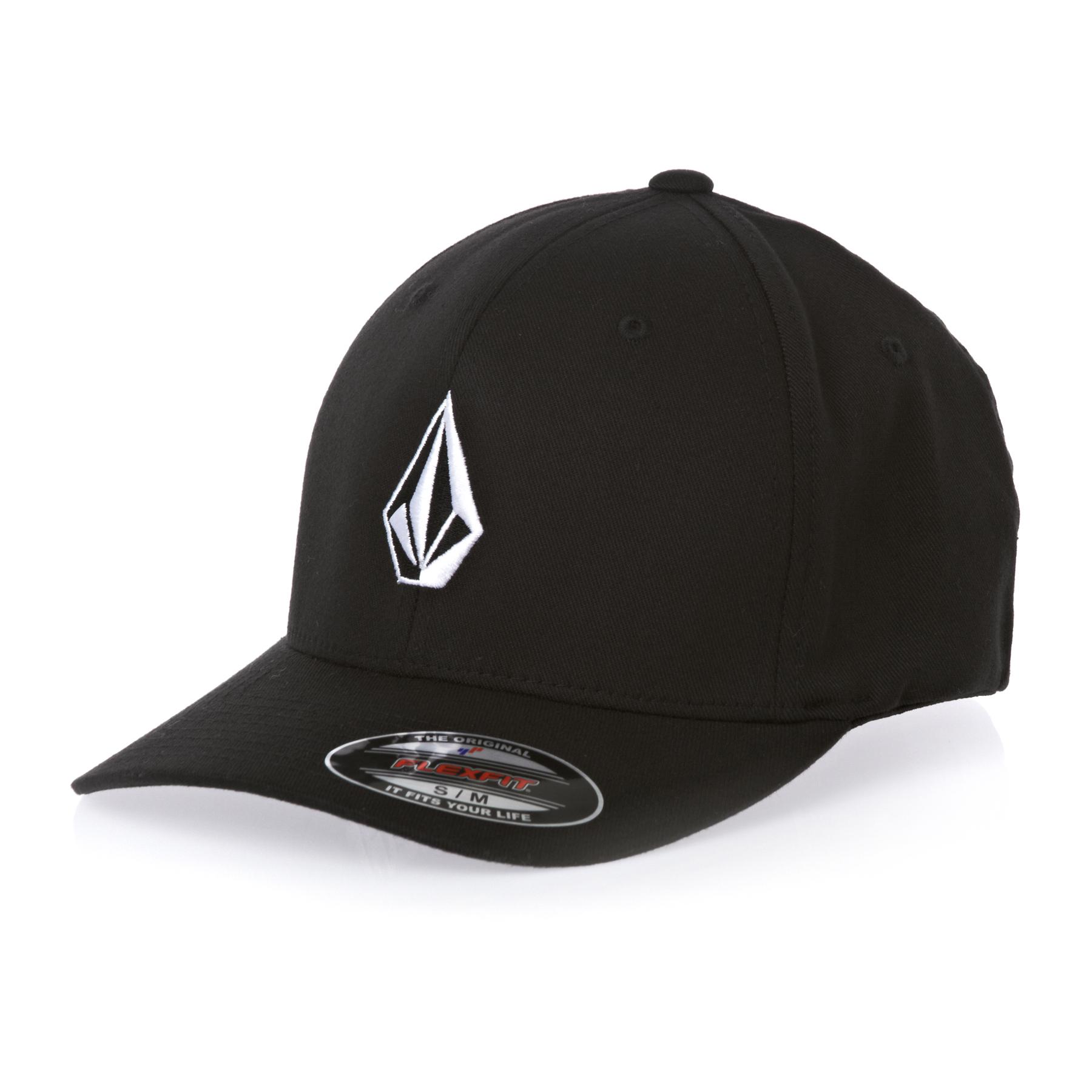 Volcom Full Stone Xfit Mens Cap - Black