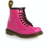 Dr Martens Toddler Brooklee Boots - Hot Pink Patent