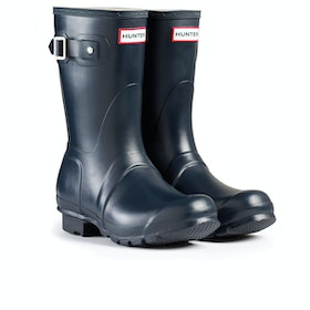 Hunter Original Short Womens Wellies - Navy
