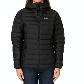 Veste Femme Patagonia Sweater Hooded - Black