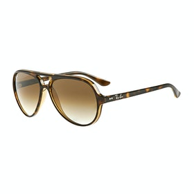Ray-Ban Cats 5000 Aviator Sunglasses - Light Havana