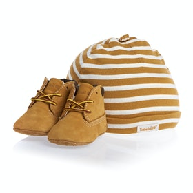 Scarpe Bambini Timberland Infant beanie and Crib - Wheat