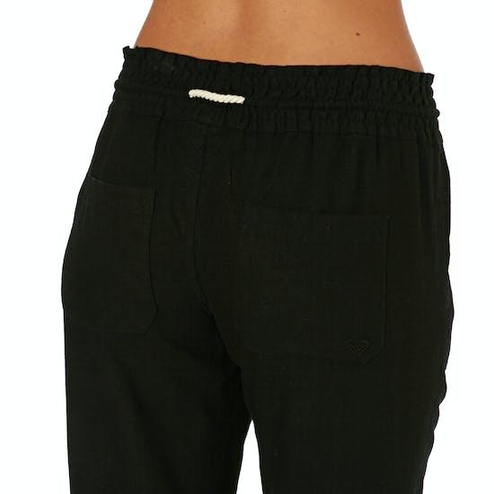 Pantalon Femme Roxy Oceanside Linen