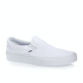 Vans Classic Slip On Shoes - True White