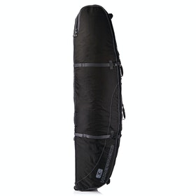 Ocean and Earth Wheel Triple Shortboard Surfboard Bag - Black