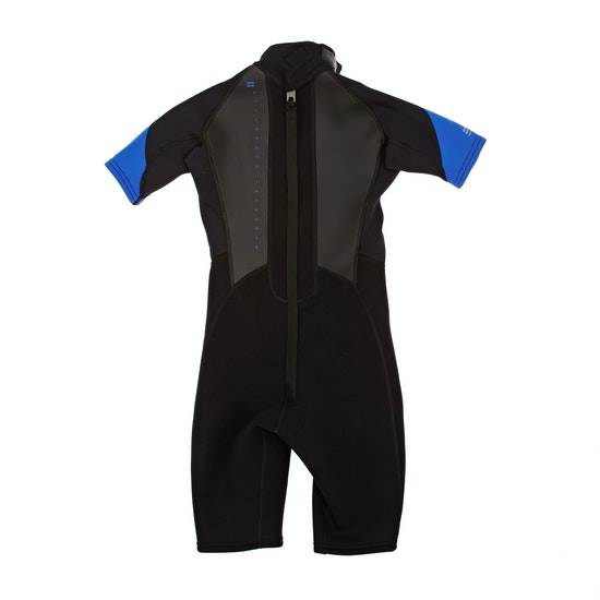 Billabong Intruder 2mm Back Zip Shorty Boys Wetsuit