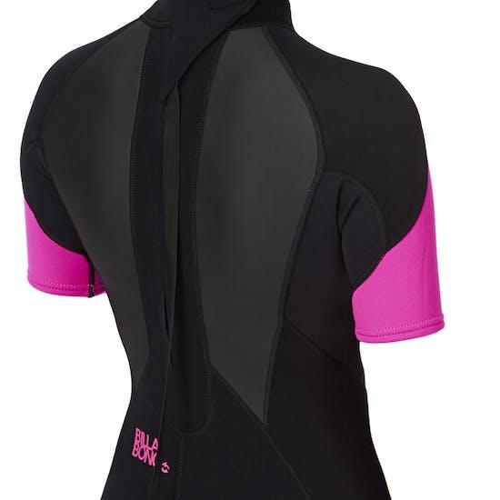 Billabong Launch 2mm Back Zip Shorty Ladies Wetsuit