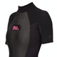 Billabong Launch 2mm Back Zip Shorty Womens Wetsuit