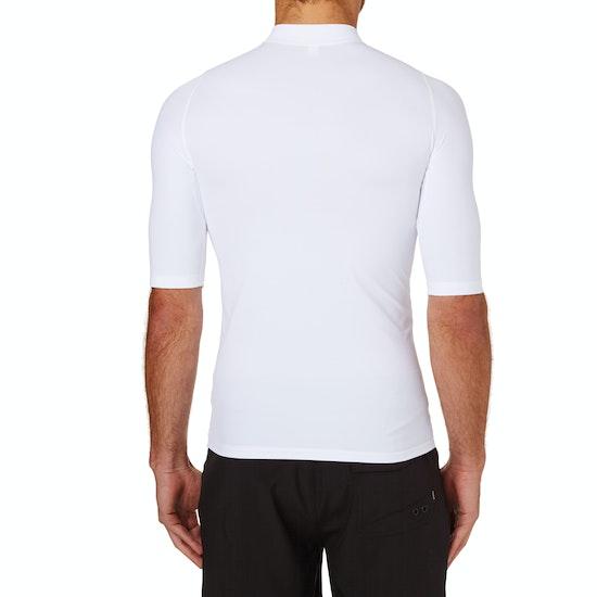 Rip Curl Comp Short Sleeve Rash Vest