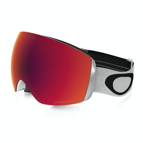 Maschere da Neve Oakley Flight Deck XM - Matte White ~ Prizm Torch Iridium