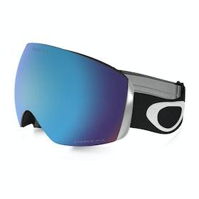 Oakley Flight Deck Snow Goggles - Matte Black ~ Prizm Sapphire Iridium