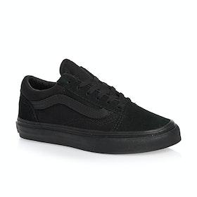 Chaussures Enfant Vans Old Skool - Black Black