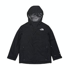 North Face Snow Quest Boys Snow Jacket - TNF Black