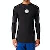 Rip Curl Flashbomb Long Sleeve Polypro Rash Vest - Black