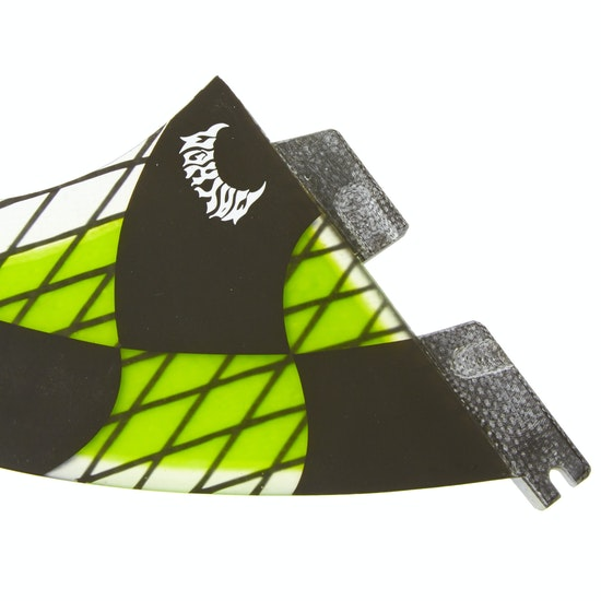 FCS II Matt Biolos Performance Core Acid Triquad Fin