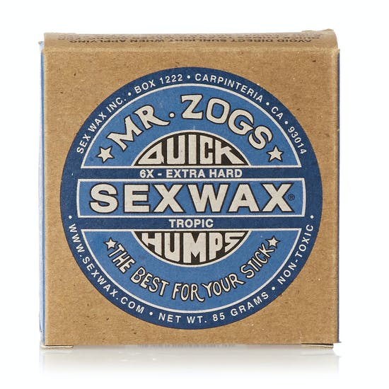 Sex Wax Mr Zogs Quick Humps Surf Wax
