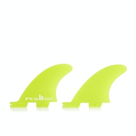 FCS II Carver Neo Glass Quad Rear Fin - Lime