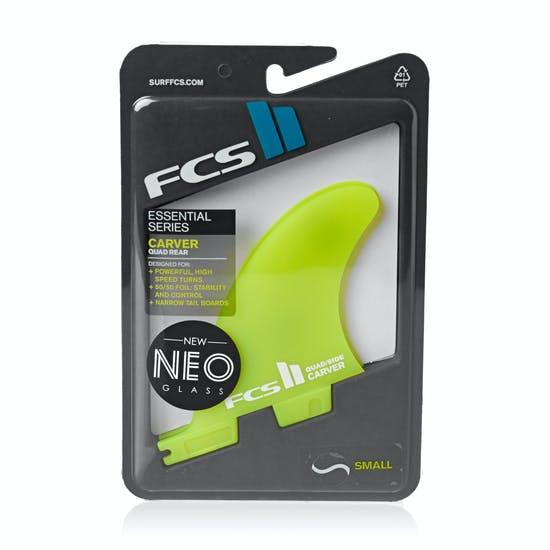 FCS II Carver Neo Glass Quad Rear Fin