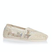 Toms Crochet Alpargata Womens Slip On Shoes