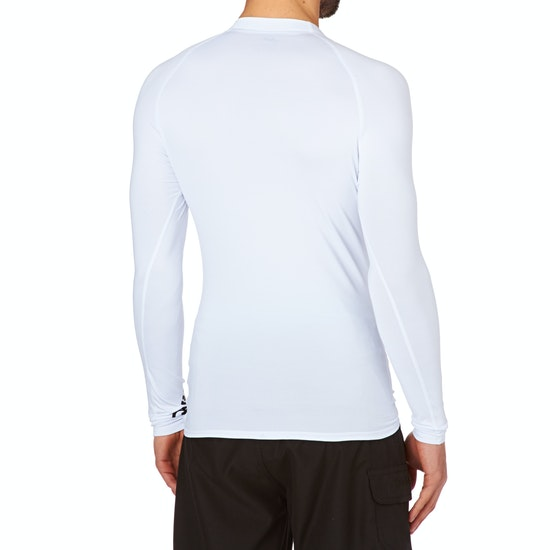 Quiksilver All Time Long Sleeve Mens Rash Vest