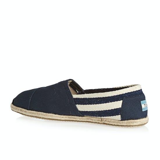 Toms Mens University Classic Alpargata Slip On Shoes