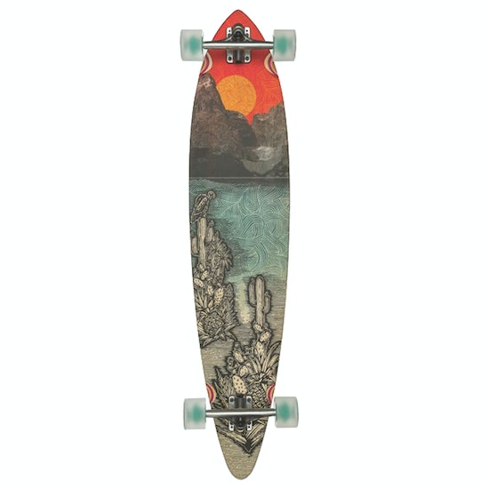 Globe Pintail Bamboo Climate Change 44 Inch Longboard