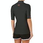Billabong Logo Short Sleeve Ladies Rash Vest