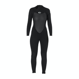 Rip Curl Omega 4/3mm Back Zip Womens Wetsuit - Black