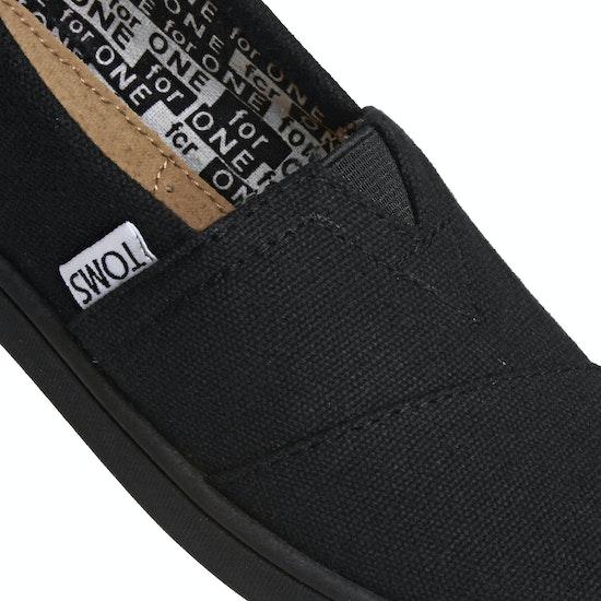 Sapatos de Dormir Criança Toms Classic Alpargata