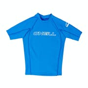 O'Neill Basic Skins Short Sleeve Crew Boys Rash Vest