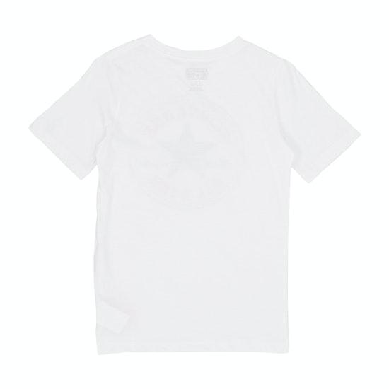 T-Shirt à Manche Courte Enfant Converse Chuck Patch