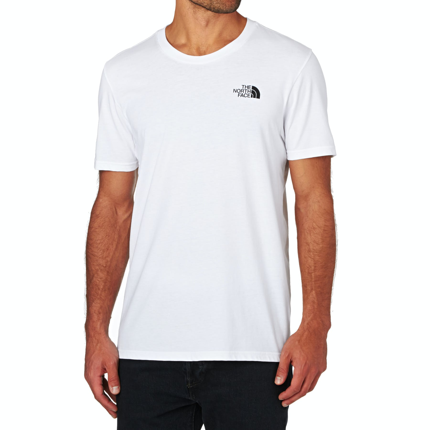 9dee7d8a1 North Face Simple Dome Short Sleeve T-Shirt - Free Delivery options on All  Orders from Surfdome UK