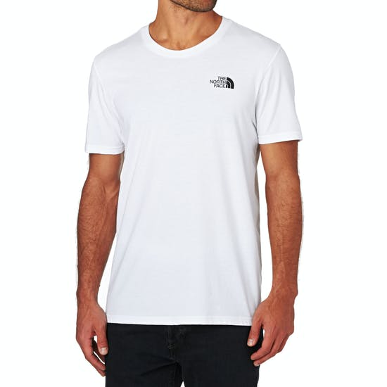 5d533229e North Face Simple Dome Short Sleeve T-Shirt - Free Delivery options ...