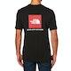 North Face Red Box Short Sleeve T-Shirt