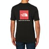 North Face Red Box Short Sleeve T-Shirt - TNF Black