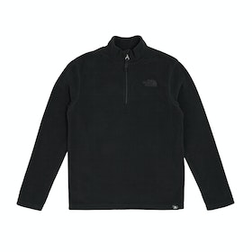 Polaire Enfant North Face Glacier Quarter Zip - TNF Black