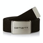 Carhartt Clip Chrome Mens Web Belt